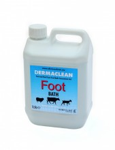 Dermaclean Concentrate Foot & Hoof Bath Gel 2.5 Ltr